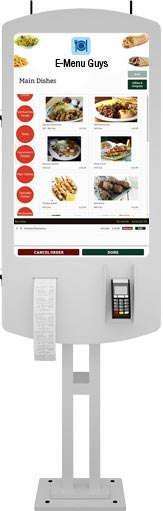 E-Menu Guys Self Ordering Kiosks