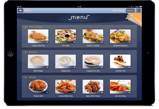 E-Menu Guys Tablet E-Menus