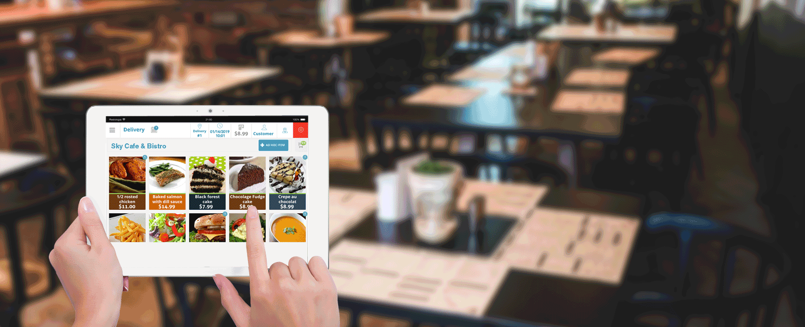 Restaurant Tablet E-Menu Guys